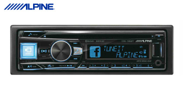 Alpine CDE 195BT Autoradio mit Bluetooth