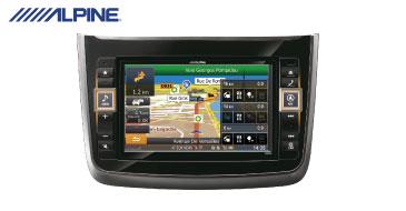 ALPINE X800D-V: 2-DIN Navi – Alpine Style Produkt für Mercedes-Benz Viano und Vito