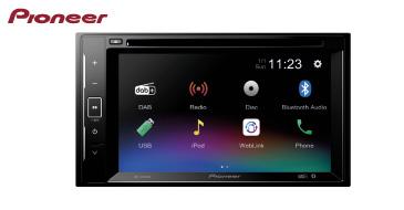 Pioneer AVH-A240DAB: 2-DIN Multimediasystem