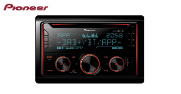 Pioneer FH-S820DAB: 2-DIN Autoradio