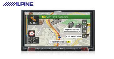 Alpine INE-W710D Navigationssystem