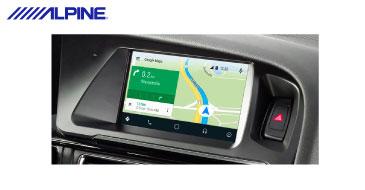 Alpine X702D-A4 Navigationssystem