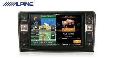 ALPINE X800D-ML: 2-DIN Navi Mercedes-Benz ML und GL (164)