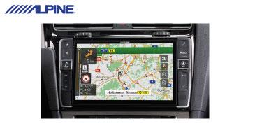 ALPINE X901D-G7: 2-DIN Navi – Alpine Style Produkt für den VW Golf VII
